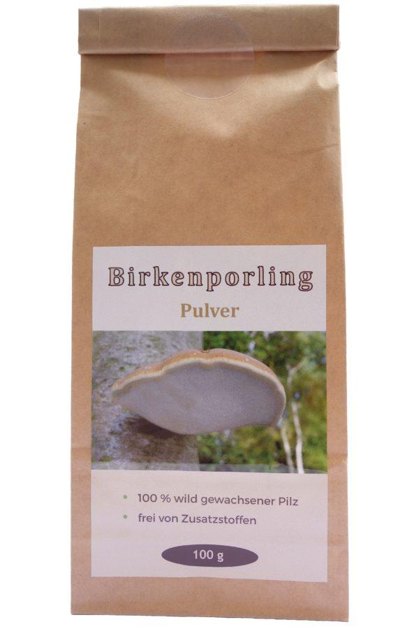 Birkenporling Pulver